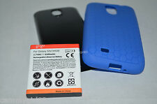 Extended Battery Samsung Galaxy S4 SIV i9500 i337 i545 M919 + TPU Silicone Case