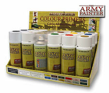 WARGAMES Army Painter Hobby All Colours Spray Paint Primer Undercoat + Varnish