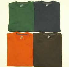 JOHN ASHFORD Men's Cotton Crewneck LS Tee T-Shirt (S) NEW NWT $30