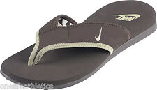 Nike Mens Celso Thong  Brown sandals New 8 , 9 or 11