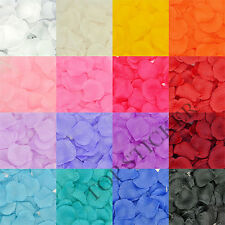 100 PCS Silk Rose Petals Wedding Party Flowers Confetti Table Bed Decorations GB