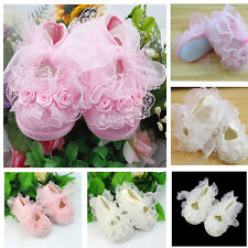 Stylish Non-Slip Newborn Shoes Baby Toddler Shoes With Beautiful Lace Cute HOT
