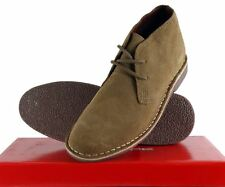 Red Tape Gobi Mens Real Suede Leather Ankle Desert Boots UK7-UK11 in Stone