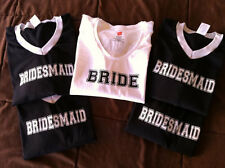Team Bride Custom Jersey T-shirts
