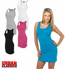 Urban Classics Short Women's Stretch Dress TB464 Mini Dress New Stretch Mini