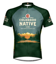 Colorado Native Beer Primal Wear Cycling jersey Men's Short Sleeve bike bicycle