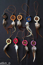 DREAMCATCHER / MOBILE Strap KEYCHAIN / 9 COLORS / 2,5cm /FREE Worldwide Delivery