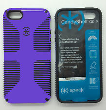 Authentic Speck iPhone 5 5s Case CandyShell Protective Cover Pink Purple White