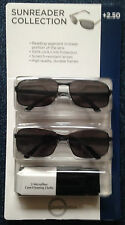 SUNREADER UNISEX COLLECTION. +2.50 STRENGTH. .TWIN PACK BRAND NEW SEALED PACK