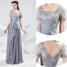 CHEAP RETRO Mother of the Bride WEDDING Prom Homecoming Party Evening Maxi Dress