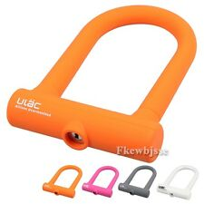 Cycling Bikes Bicycle Fixed Gear Cable Steel U Lock Anti Theft Security Padlock