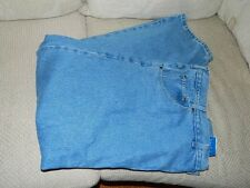 BCC Blues Mens Blue Jeans Big & Tall 54 x 32 Classic Fit