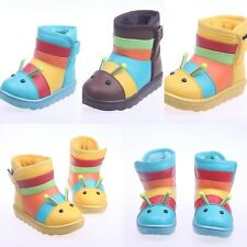 Fashion Lovely Warm Baby Kids Winter Boots Waterproof for Boy and Girl 1-7 Years