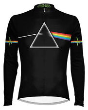 Primal Wear Pink Floyd Dark Side of the Moon Cycling Jersey Men's Long Sleeve