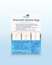 NEW Disposable Sterliser Bags (7 day supply)