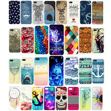 """New Cute Colorful Painted PC hard back Case For iPhone 4 5 5S 6 4.7"""" 6 plus"""