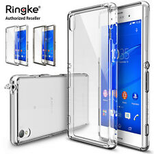 Genuine RINGKE FUSION Rubber Soft Bumper Hybrid Case Cover For Sony Xperia Z3