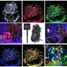7M-22M 100-200 Leds Solar Power Fairy Light String Lamp Party Xmas Decor Outdoor