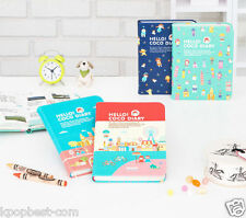 2015 Hello Coco Hard leather Cover Diary Cute Planner Journal Scheduler Agenda