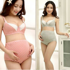 Women Nursing Bra Breastfeeding Maternity Bra Set Pregnant Clothing Knickers