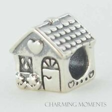 Sterling Silver 925 European Charm Home Sweet Home House Bead 99241