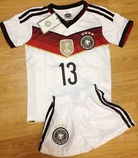 Germany #13 Muller 2014 FIFA WORLD CUP Soccer Kids Jersey Youth All Sizes