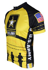 U.S. Army Soldier Military Tribute Men's Cycling Jersey by 83 Sportswear + Socks