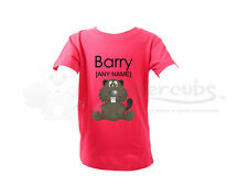 Personalised Buttercubs Baby Toddler T-Shirt- Baby Beaver Design