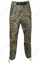 German Army Elite HBT PANZER TROUSERS Dot Peas Camouflage All Sizes WW2 Uniform