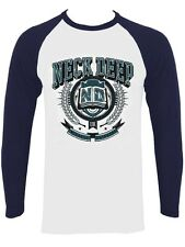 Neck Deep Crest Men's Navy Raglan T-shirt