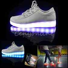 2014 NEW FASHION SIMULATION LED LEATHER SHOES 7 led light colors in 1 shoe LED2