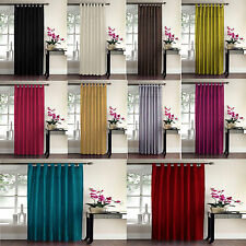 Luxury Sequin Swirl Panel Curtain Panel Tab Top Curtains 8 Colours NEW