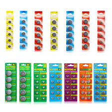 Wholesale Button Coin Cell Battery 5/10/50/100 PCS AG1 AG4 AG10 AG13 CR2032..etc