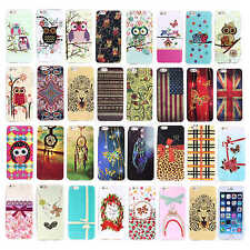 "For Apple iPhone 6 4.7""/Plus 5.5"" Case TPU Glitter Soft Rubber Gel Pattern Cover"