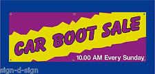 CAR BOOT SALE HERE BANNERS CHOOSE OWN DATE & TIME Car boot fares 1006