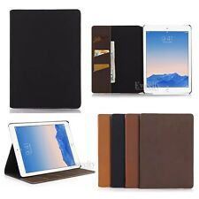 Folio Wallet PU Leather Card Set Stand Smart Case Cover For Apple iPad Air 2