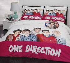 Design 10 ONE DIRECTION 1D Quilt Doona Cover Set - SINGLE DOUBLE QUEEN