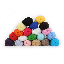 Knitting Yarn Natural Smooth Bamboo Cotton Skein Fingering High Quality