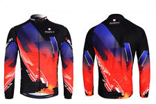 New Men's Outdoor Sports Bike Bicycle Cycling Long Sleeve Jersey