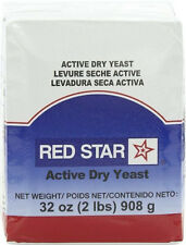 Red Star Bakers Active Dry Yeast Vacuum Pack Baking & Cooking 2 lb/pack