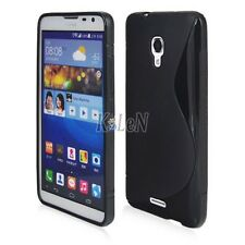 S Line TPU Soft Gel Silicone Case Skin Cover Back For Huawei Ascend Mate 2 II 4G