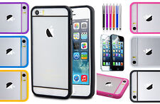 RUBBER SOFT SILICONE GEL SKIN BUMPER TPU CASE COVER FOR IPHONE 5 5S