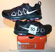 LOOK! NEW SIZES 6W & 6.5 NIKE AIR ALVORD 10 BLACK PINK RUNNING SHOES SNEAKERS!