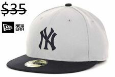New York NY Yankees Men New Era 59Fifty Fitted MLB Baseball Hat Cap Team Apparel