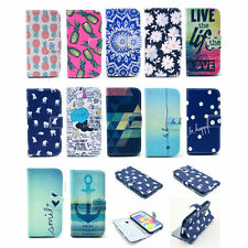 New Fashion Stand Hybrid Flip Wallet Leather Case Cover For Samsung Galaxy Phone