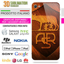 COVER AS ROMA LEGNO PER IPHONE IPOD GALAXY Z10 HTC LUMIA XPERIA NOTE LG HUAWEI