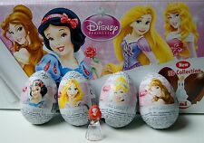 Disney PRINCESS chocolate surprise eggs with a New 3D collection inside -  Zaini