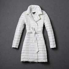 Top Winter Warm double Breasted Women Long Coat Down Jacket Big Bowknot Overcoat