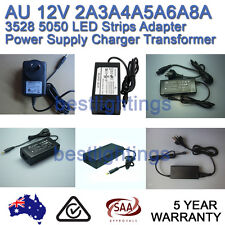 AU 12V 2A 3A 4A 5A 6A 8A SAA Power Supply Charger Transformer LED Strips Adapter