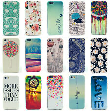 Paint Pattern Phone Hard Back Skin Case Cover For Apple iPhone 6&6 Plus 5 5S 4S